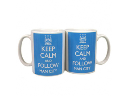 Hrnek Manchester City Keep Calm 350 ml
