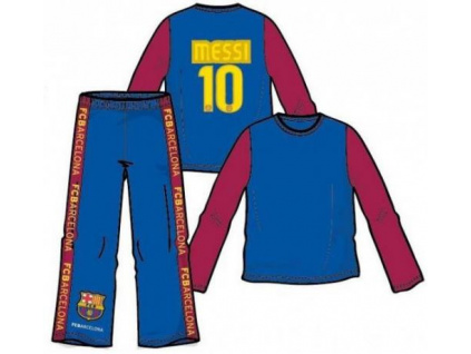 Pyžamo FC Barcelona Messi dlouhé