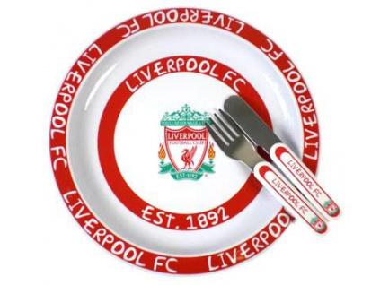 Dětský jídelní set Liverpool FC II