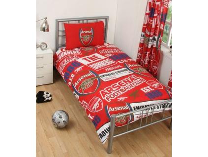 Povlečení FC Arsenal 135x200 cm, 50x75 cm