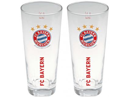 Sada sklenic 300ml FC Bayern Mnichov 2ks FCB
