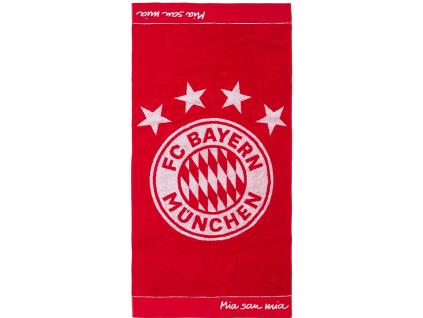 Ručník Bayern Mnichov emblem 50x100cm