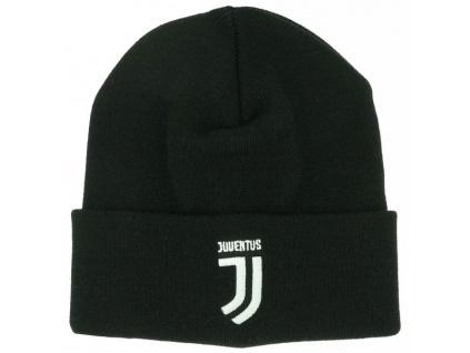 Zimní čepice Juventus Turín FC bl
