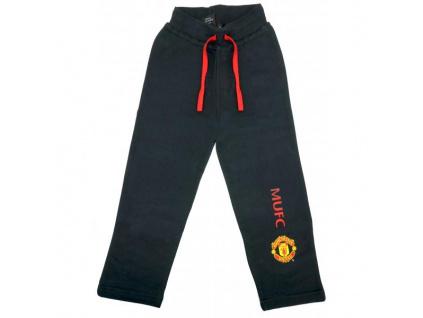 Dětské tepláky Manchester United černé