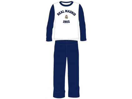Pyžamo FC Real Madrid modrobílé