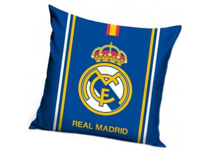 Polštářek Real Madrid 18 blue 40x40 cm