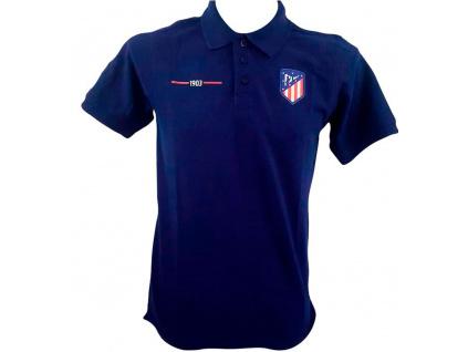 Pánské polo tričko Atletico Madrid navy