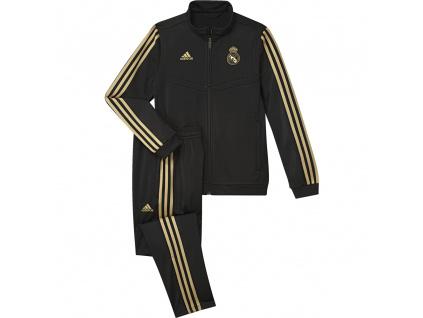 Dětská souprava Adidas Real Madrid černá 19/20
