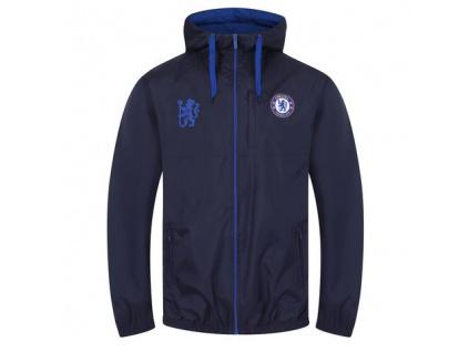 Pánská bunda Chelsea FC rain modrá