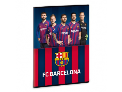Sešit FC Barcelona stars 19 A4 linkovaný