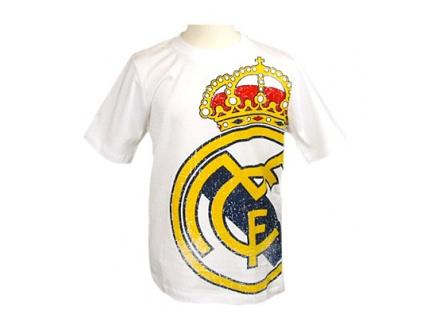 2 tricko real madrid znak