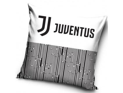 Polštářek Juventus Turín 18 stripes 40x40cm