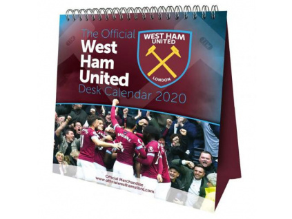 stolni kalendar west ham united 2020