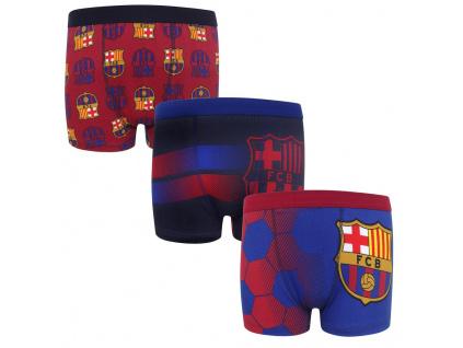 Dětské boxerky FC Barcelona 3pk