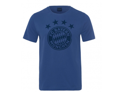 tricko bayern mnichov emblem modre