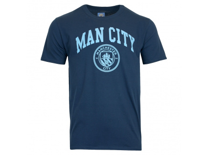 tricko manchester city navy
