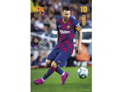 plakat fc barcelona messi2020