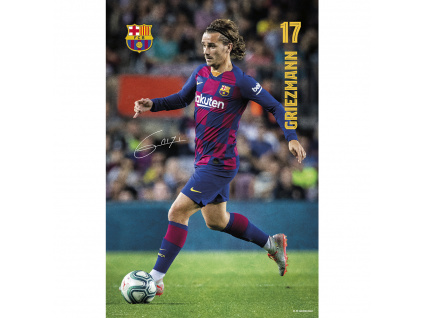 plakat fc barcelona griezmann2020