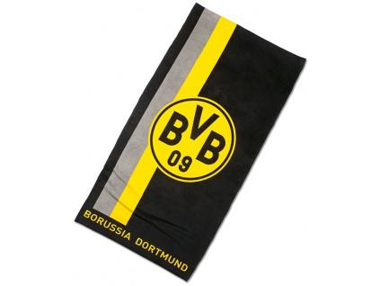 Osuška Borussia Dortmund stripe 70 x 140 cm