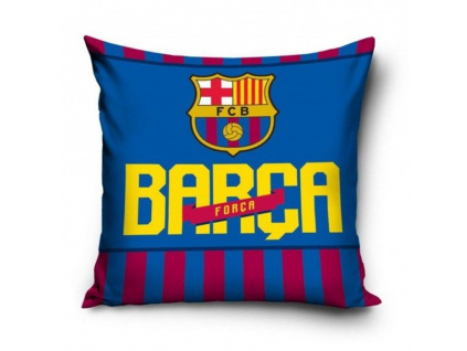 povlak polstarek fc barcelona forca