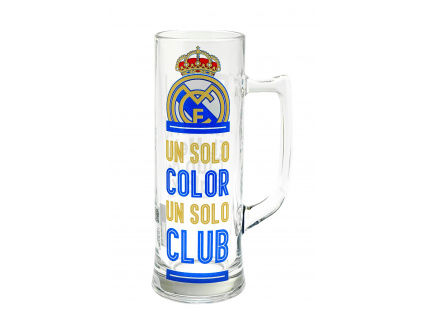 Vysoký pivní krýgl Real Madrid 500ml