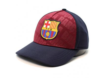 barça soccer maroonnavy cap