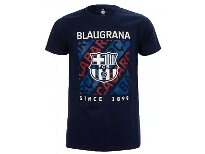 Pánské tričko FC Barcelona 20 ride marino