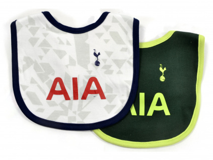 spurs two pack baby bib 1