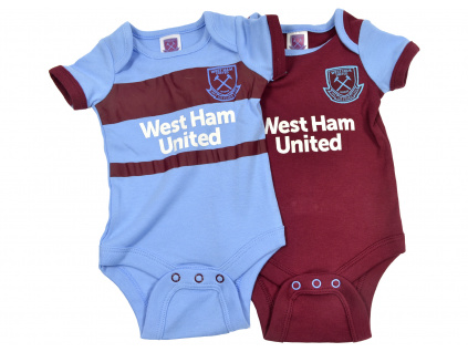 west ham two pack body suits home away 1