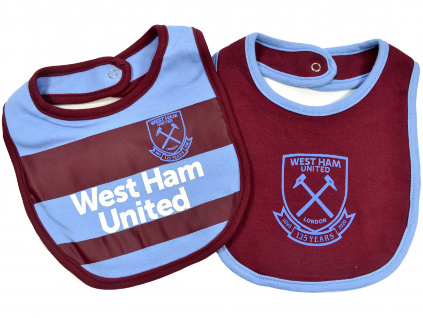 west ham two pack bibs 1