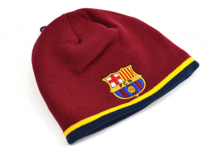 barcelona tipping roll down beanie 1