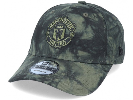 manchester united dye 9forty november green adjustable new era