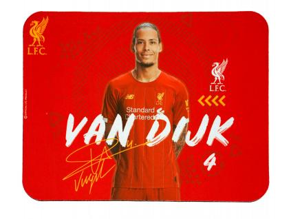 Podložka pod myš Liverpool FC Van Dijk