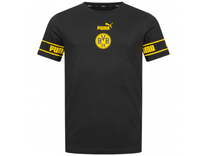 Pánské tričko Puma Borussia Dortmund Culture černé