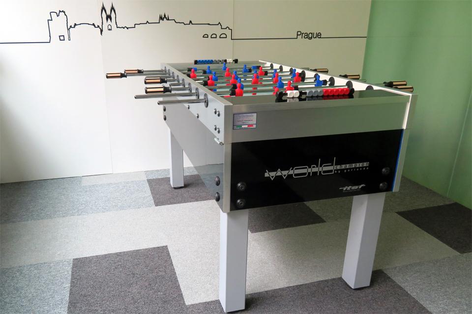Vhodný stolní fotbal do kanceláře