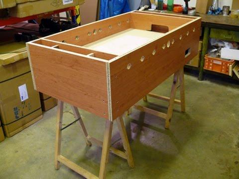 Návod jak vyrobit vlastní stolní fotbal