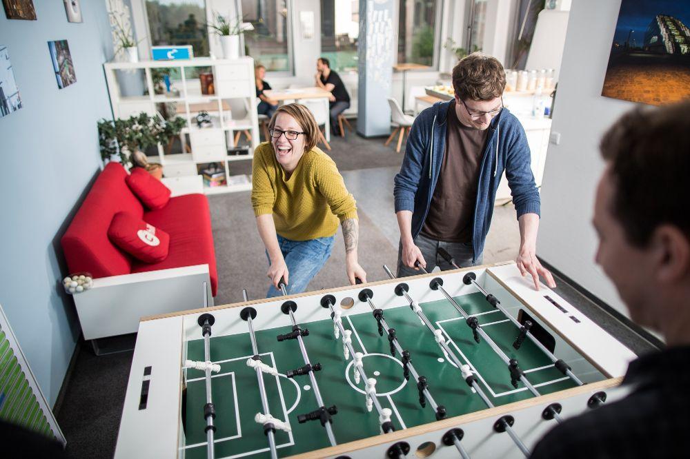 Stolní fotbal do kanceláře