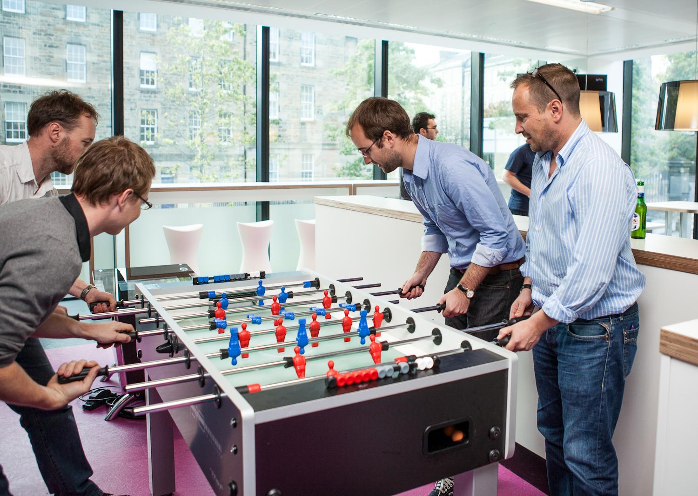 Stolní fotbal do kanceláří