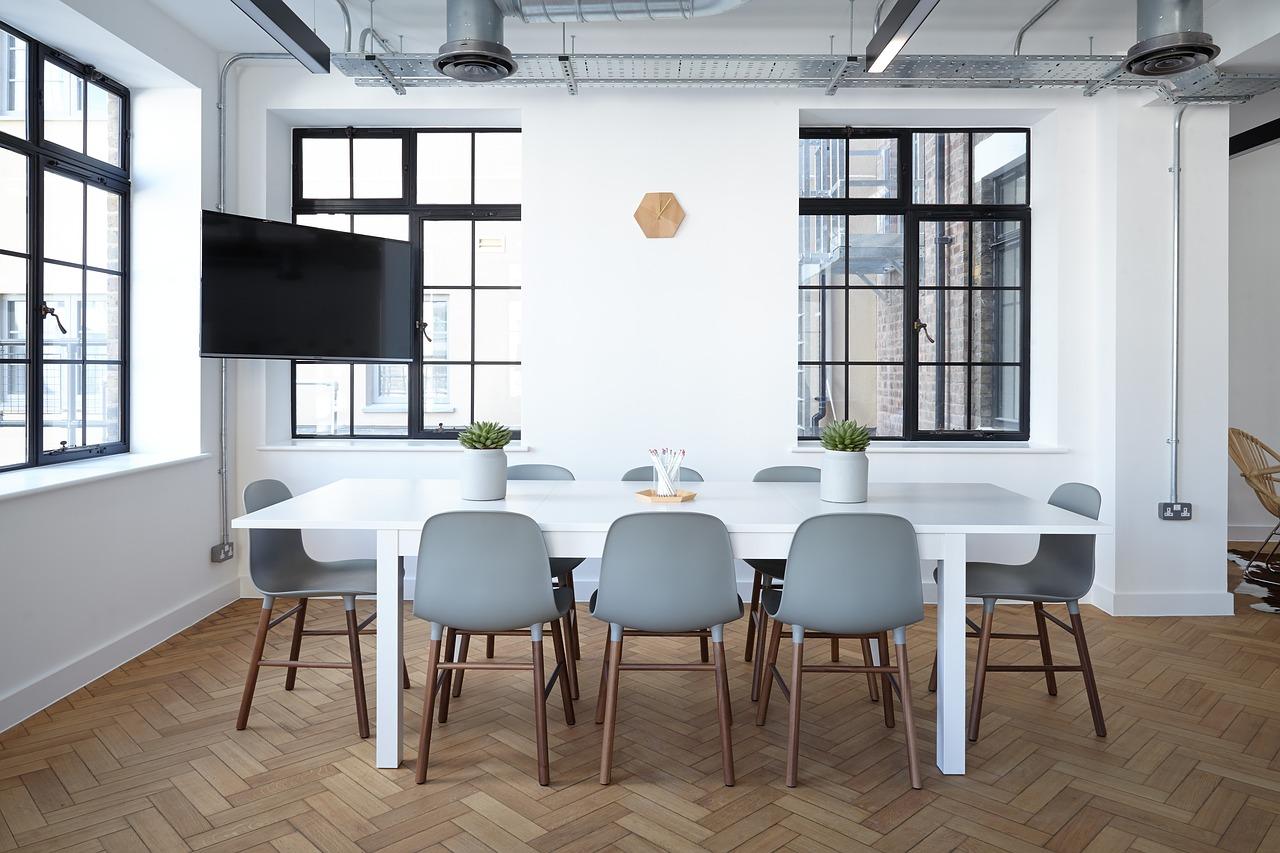 Nápaditý design moderních kanceláří