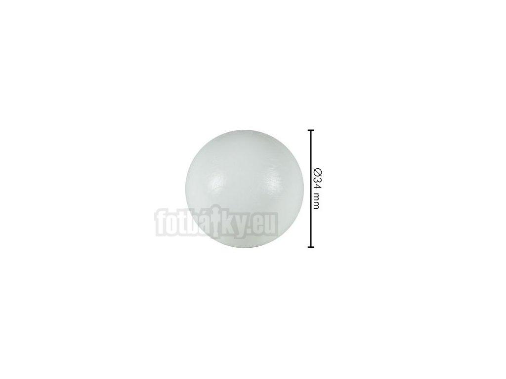 Míček bílý-průměr 34mm