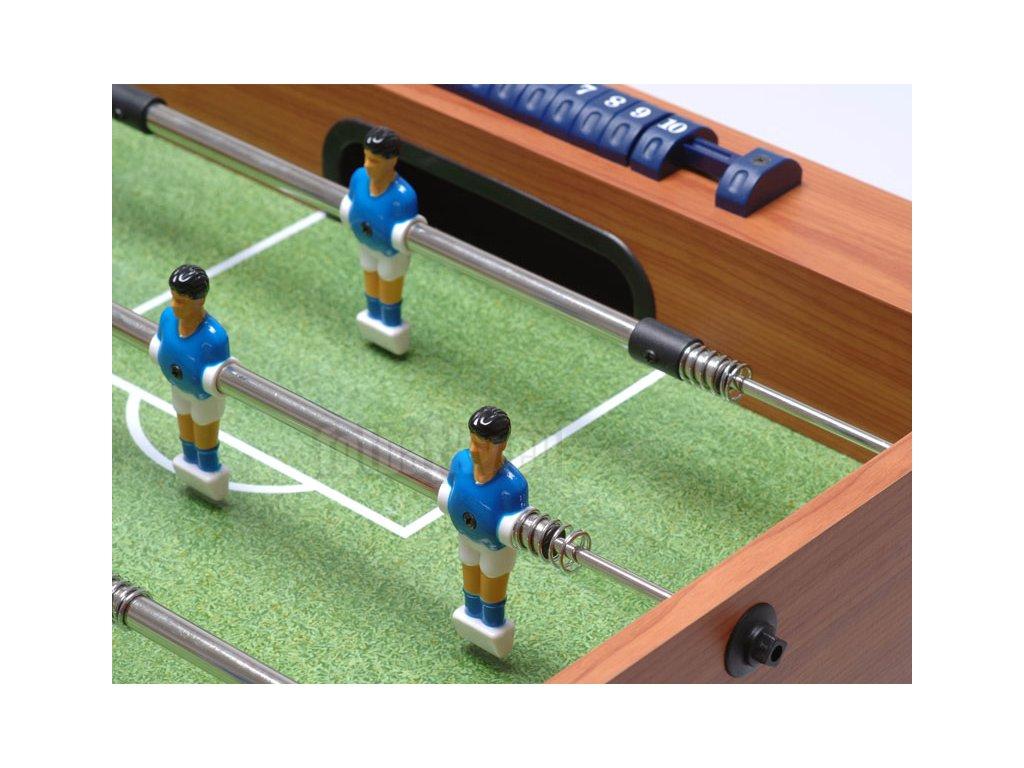 Dětský stolní fotbal s teleskopickými tyčemi