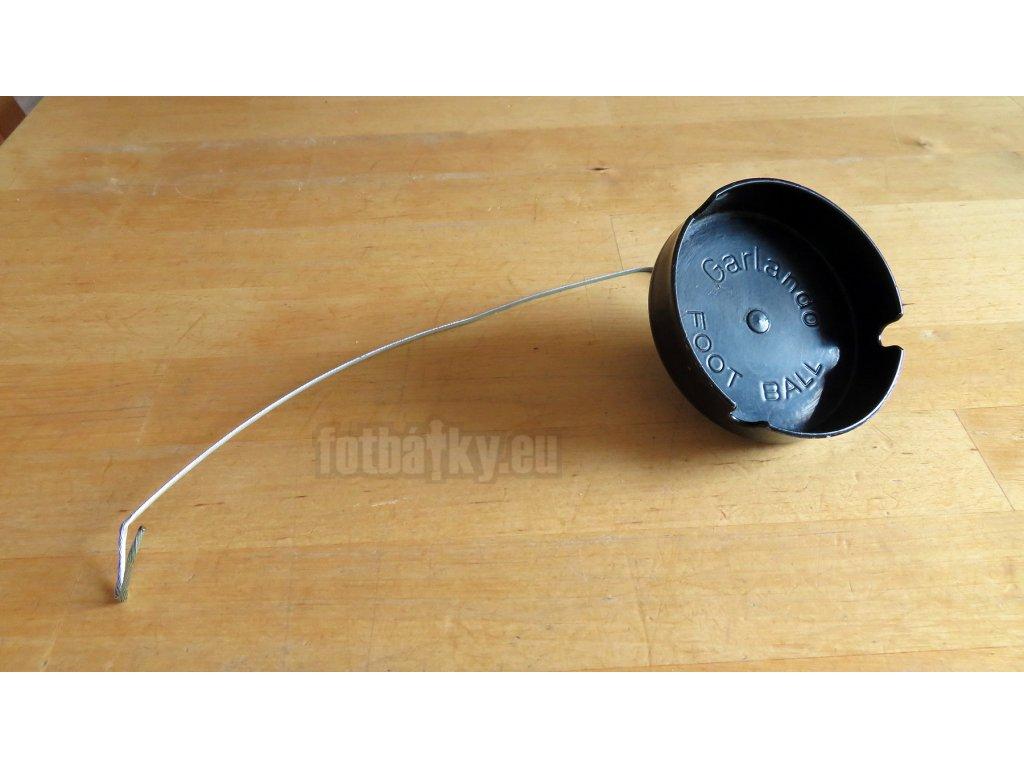 Použitý - popelník pro Garlando s ocelovým zabezpečovacím lankem