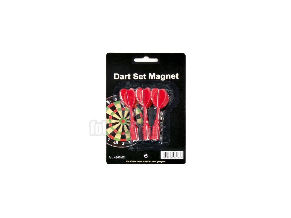 Magnetické šipky Karella - červené
