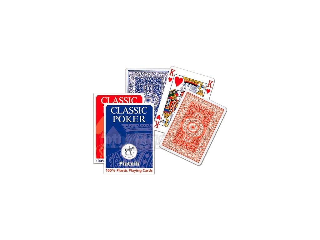 Piatnik Poker - 100% Plastic malý index