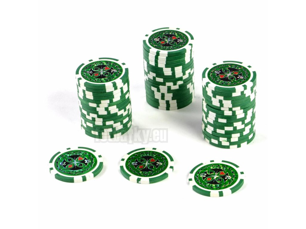 Kusový žeton na poker design Ultimate hodnota 25 - 25ks