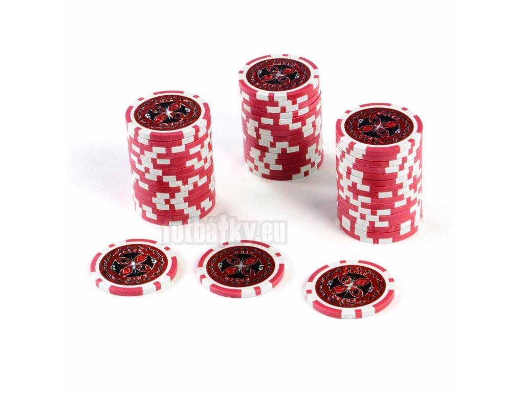 Kusový žeton na poker design Ultimate hodnota 5 - 50ks