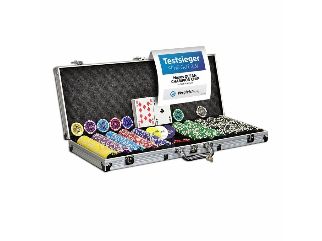 Poker set - 500 ks design Ultimate Garthen