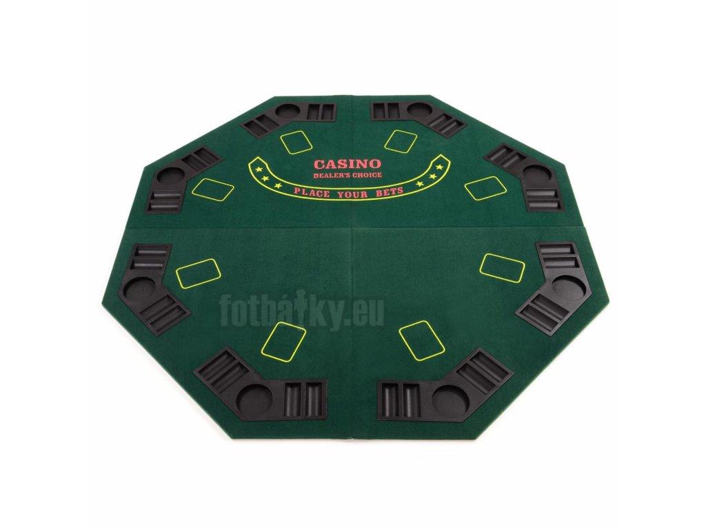 Poker podložka osmihran skládací Garthen