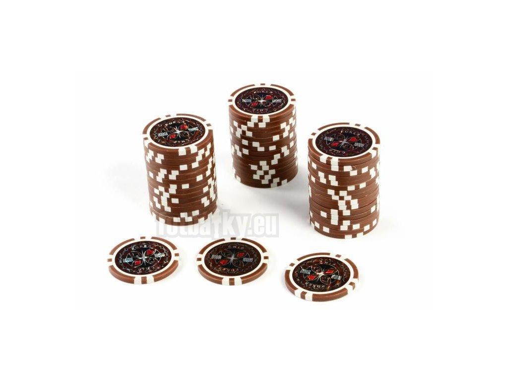 Kusový žeton na poker design Ultimate hodnota 10000 - 50ks