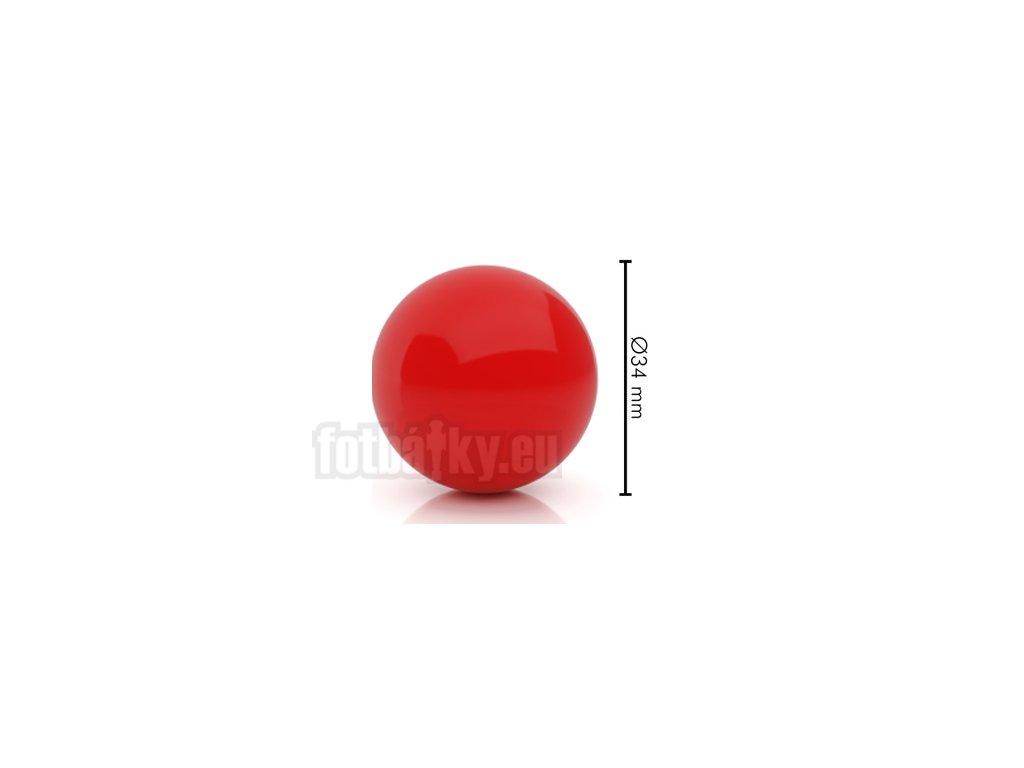 Míček tvrdý červený